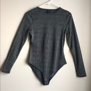 Who What Wear woman's long sleeve bodysuit!
